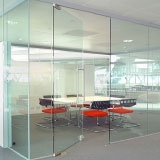 Securit glass doors