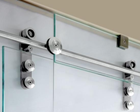 Συρόμενη πόρτα INAL με Aνοξείδωτο Άξονα